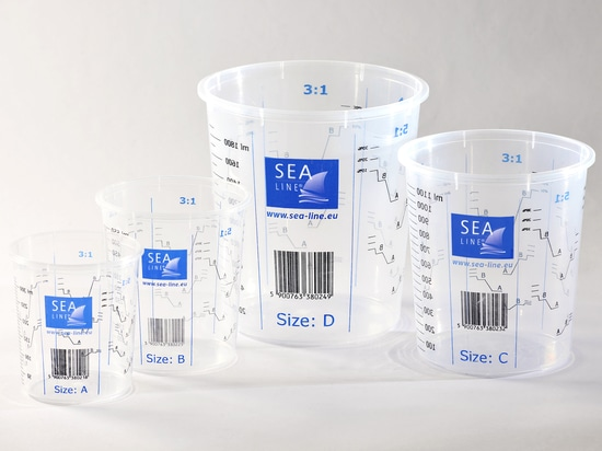 Sea-Line measure cups