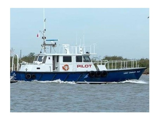Lake Charles Pilots already own three pilot boats built by Gladding-Hearn Shipbuilding based on C. Raymond Hunt designs