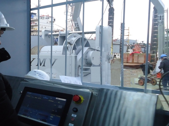 Active Heave Compensation Winch Control System