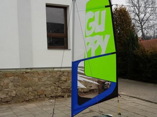 MiniCat Guppy sail