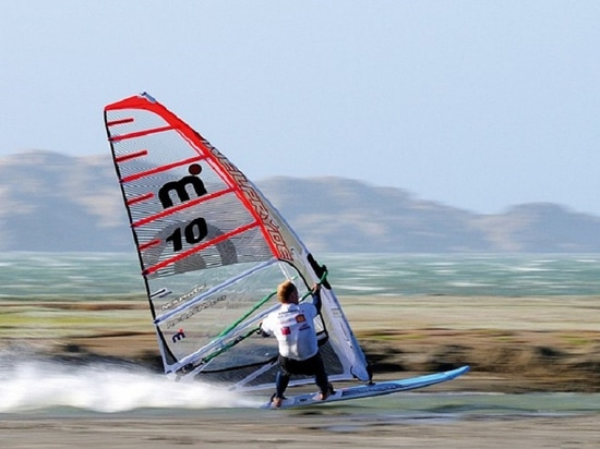 Swedish windsurfing champion Anders Bringdal (Photo credit: Eric Bellande)