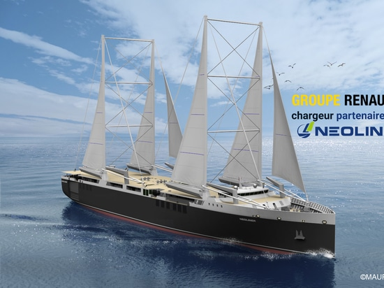 Groupe Renault partners with NEOLINE, designer and operator of cargo sailing ships, to experience a new maritime transport solution and reduce the carbon footprint of the Group's supply chain.