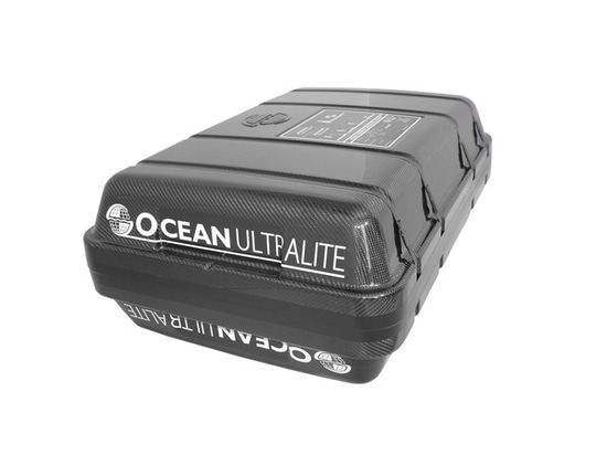 Ocean Safety's Ultralite liferaft is lighter and easier to launch
