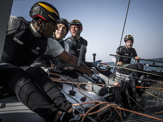 Onboard with Oman Air on the second day of racing in Muscat, Oman, where the team finished the day at the top of the Act leaderboard.