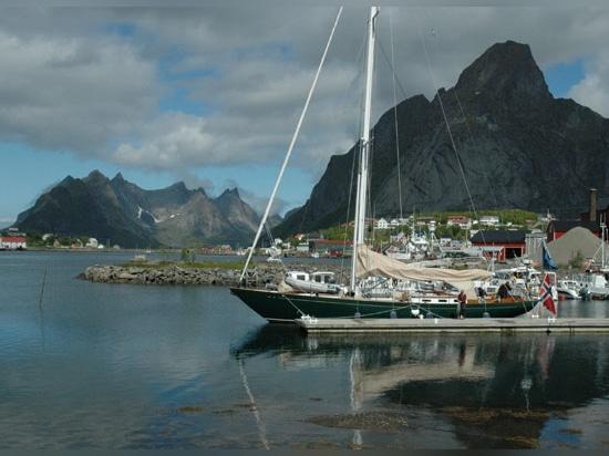 Jenny moored in Lofoten, NorwayCredit: OCC