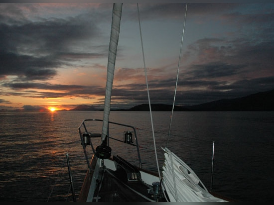 Once in the Arctic Circle, rally participants can expect to see the midnight sun
