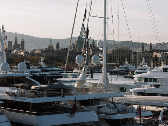 The second annual Superyacht Show has kicked off in Barcelona with 30 attending yachts