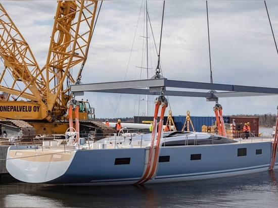 Liara has launched Photo: facebook.com/balticyachts