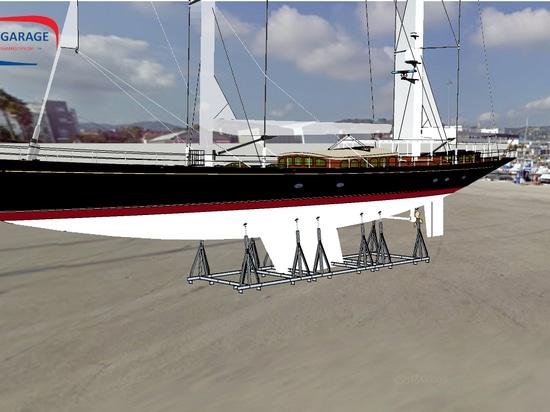 Modular Yacht's Cradles