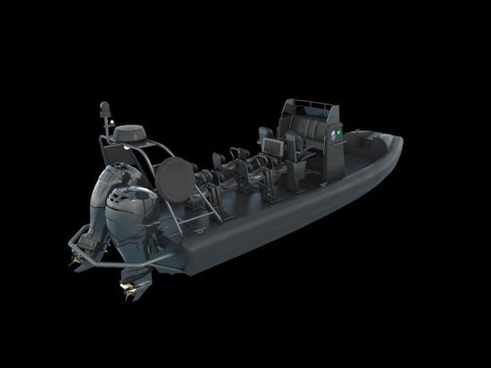 The 8-metre ProZero Center Console has a non-stepped, variable deep V-bottom hull