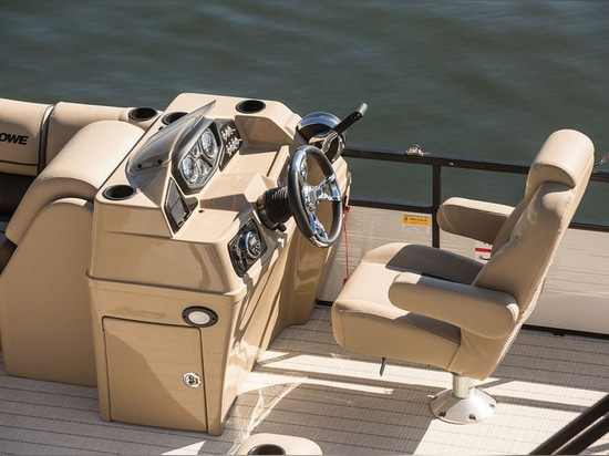 The helm offers an unobstructed view.Garrett Cortese