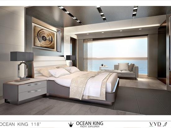 Ocean King showcases latest New Classic 108 model