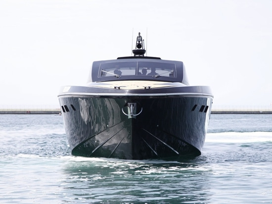 Cara Montana was launched in May and exceeded her target top speed in her first sea trials