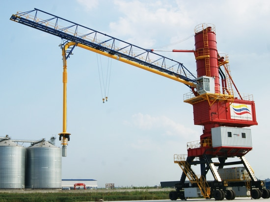 GENMA Wins 200t/h Mobile Pneumatic Ship Unloader Order from Guangxi