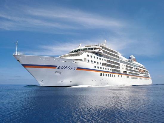 Hapag-Lloyd Cruises' Europa to Get New BWTS in Hamburg