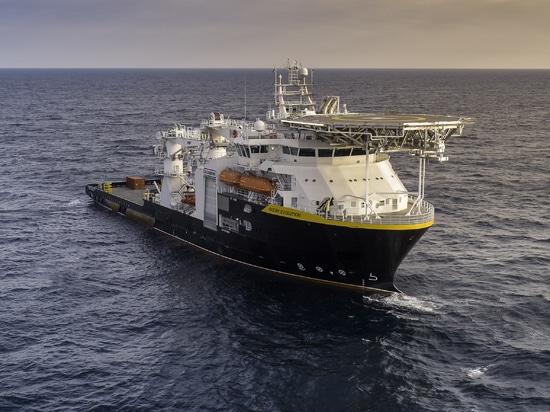 The Ocean Evolution. Oceaneering International photo