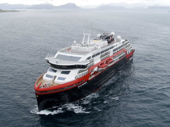 WORLD'S FIRST HYBRID POWERED CRUISE SHIP TO BE NAMED IN ANTARCTICA