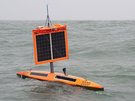 From the top of the wing to the bottom of the keel, saildrones are loaded with science sensors.