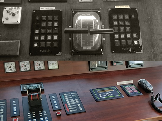 Engine control system - before and after