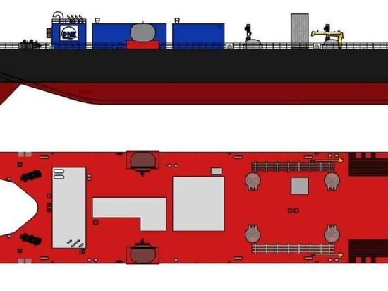 LNG barge design for Polaris New Energy to be built by Fincantieri
