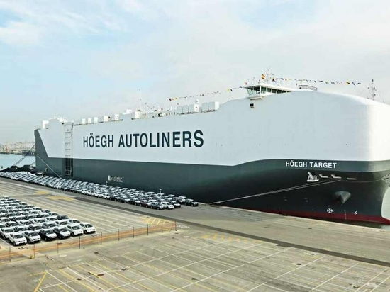 Hoegh Autoliners will use Marlink ITLink IT solutions on its car carriers