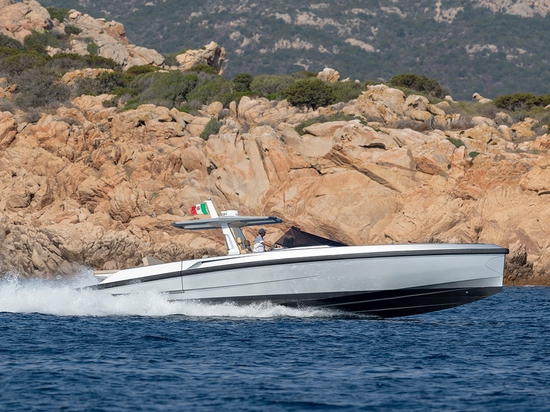The 48 Wallytender has made its international debut at the Cannes Yachting Festival