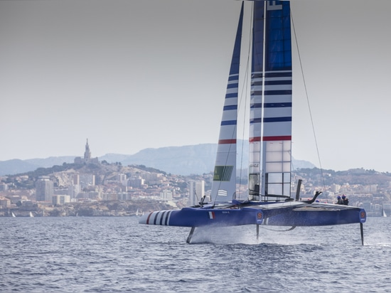 BILLY BESSON FIRST TO LAUNCH ON HOME WATERS AHEAD OF MARSEILLE SAILGP SEASON 1 GRAND FINAL