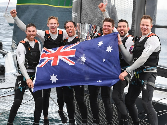Tom Slingsby victorious over longtime rival Nathan Outteridge of Japan to win SailGP Season 1 trophy and US$1 million