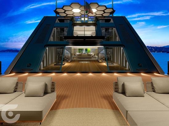 Fincantieri unveils 81m superyacht concept Vis