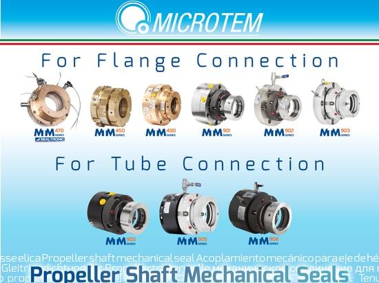 The widest range of propeller shaft  seals