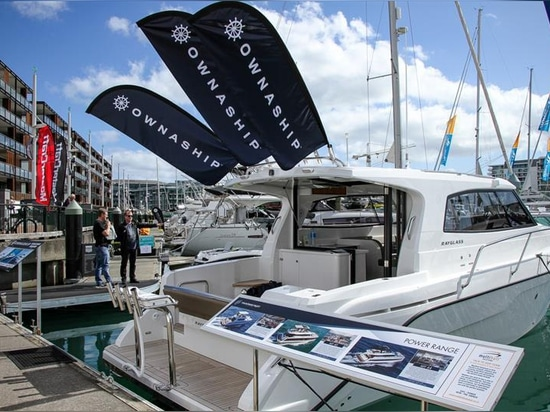 Ownaship - Auckland On the Water Boat Show - Final day - October 6, 2019 - photo © Richard Gladwell