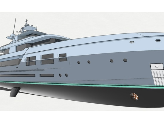 The yacht will be IMO Tier 4 compliant