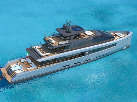 Baglietto Reveals 40 Metre Bahamas-Inspired Superyacht Concept Abaco