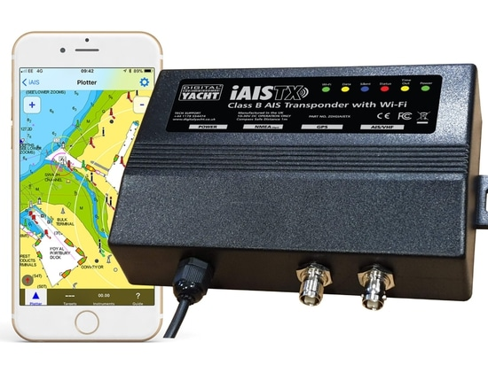 iAISTX from Digital Yacht offers a simple wireless interface