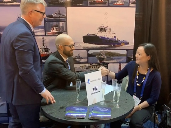 Hidrovias do Brasil and Robert Allan will develop LNG-fuelled and electric-powered towboats