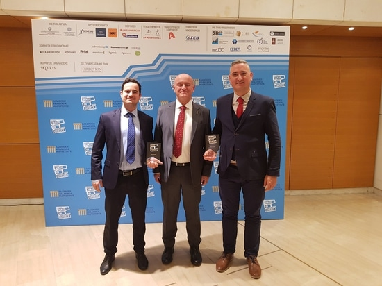 LALIZAS receives two Gold awards from the Greek Marketing Academy