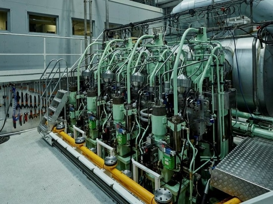 MAN Energy Solution's ME-LGIP engine could become the first ammonia-fuelled power unit