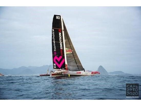 Love Water finish - Cape2Rio2020 Ocean Race, Day 16