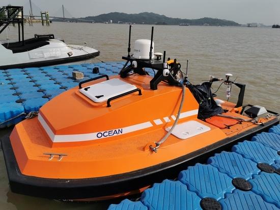 OceanAlpha to Showcase Long-Endurance USV at OI2020
