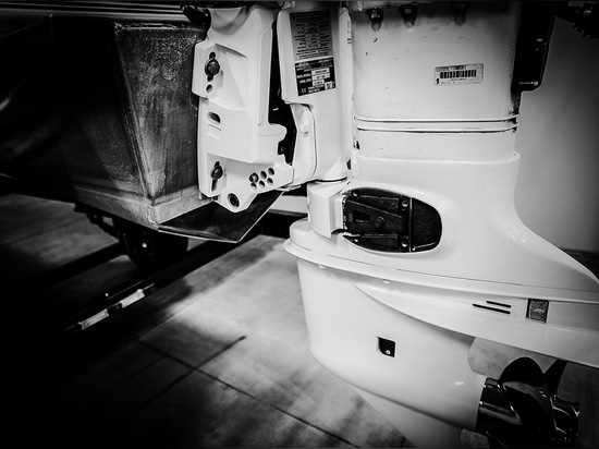 Consider the mounting height and how low the engine sits in the water when boaters are at the stern or transom.