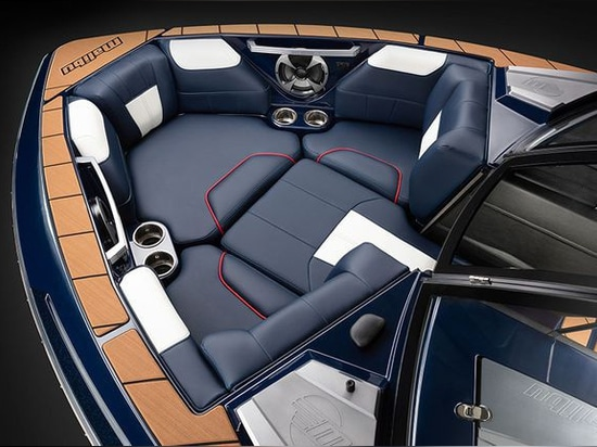 There's plush seating in the bow.