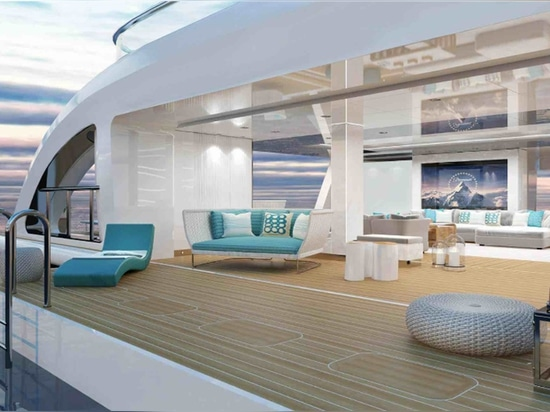 Key features on board include a full 14.2 metre beam beach club.