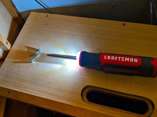 Craftsman gyroscopic e-screwdriver, you may want one