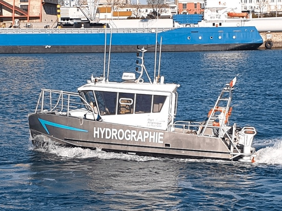 Torqeedo supplies French hydrographic boat with electric propulsion