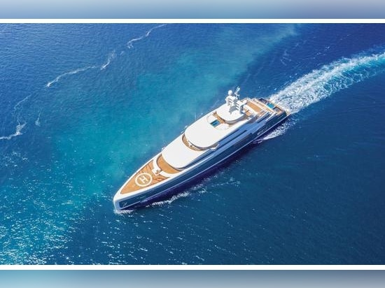 88.5-metre Illusion Plus is one of the substantial superyachts to have emerged from the area in recent years.