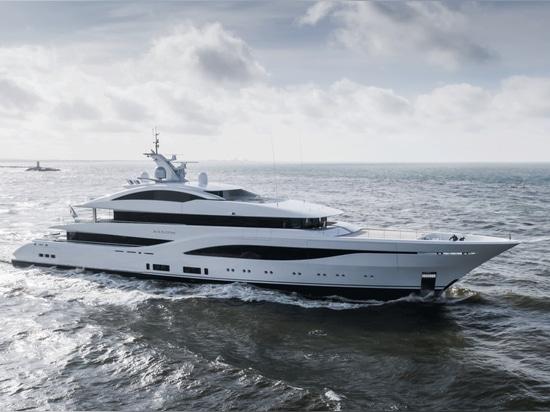 Feadship Superyacht Arrow Begins Sea Trials
