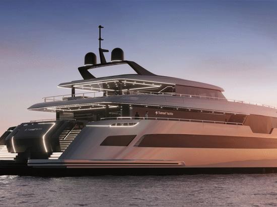 New Renderings Revealed of First 49 Metre Sunreef Catamaran