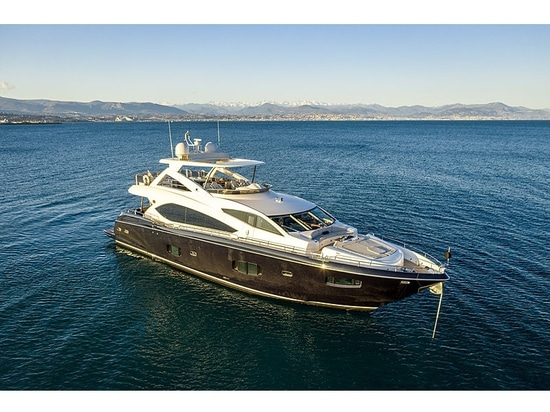 27m motor yacht Alfie Buoy on the market