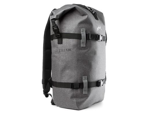 Zhik's 30-liter Dry Bag Backpack makes it easy to haul your gear to the boat, and keep it dry in the bilge.