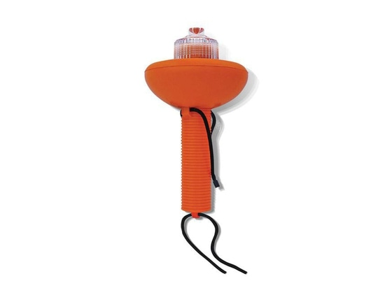 The Sirius Signal Electronic Flare Distress Light flashes an SOS signal that's visible up to 10 miles for up to 60 hours.